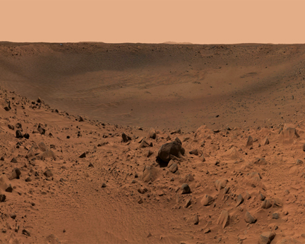 Walking on Mars Screensaver